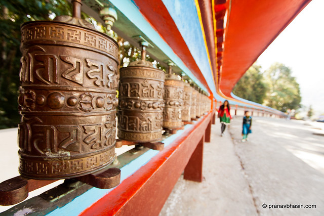 108 Prayer Wheels, Lingdum ( Ranka ) Monastery, Gangtok, Sikkim