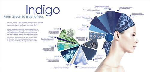 Indigo Process Poster