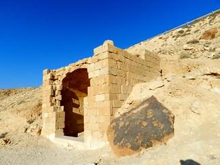 Avdat Israel cueva funeraria romana 02