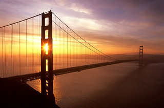 New Day Golden Gate Bridge