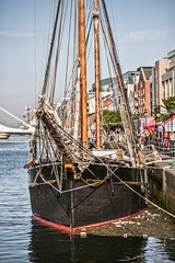 Bessie Ellen  (one of the last surviving West Country trading ketchs) (infomatique) Tags: dublin festival europe maritime docklands tallship tallships infomatique photographedbywilliammurphy