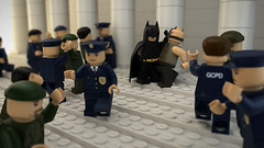 The Dark Knight Rises - Scene (DidWee) Tags: city cinema dark movie lego police scene batman knight gotham bane darkknight christianbale gothamcity lgo tomhardy christophernolan gcpd thedarkknightrises