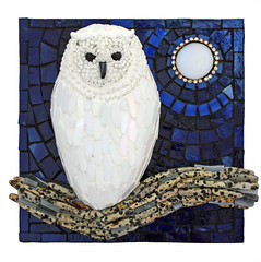 'Night Watchman'  Artist Susan Turlington (Lin Schorr) Tags: art mosaic giving fundraising donations glassart mdecinssansfrontires doctorswithoutborders onlineauction mosaicart linschorr artdonations linschorrcom mosaicauction mosaicdonations susanturlington beyondbordersmosaicauction
