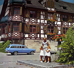 Bodensee family (Martin van Duijn) Tags: lake classic vintage geotagged schweiz switzerland photo suisse 64 calender caravan kalender publicity bodensee kombi opel 1964 stationwagon boden rekord constanz geo:lat=47664042671642584 geo:lon=9135058468925536