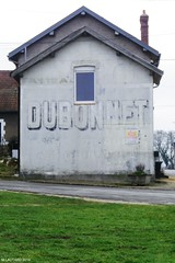 Dubonnet - détail (Marie Lautard) Tags: old france ads advertisement lorraine publicité meuse ancien oldadvertisement dubonnet publicitéanciennce