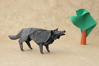 Wolf by Hideo Komatsu