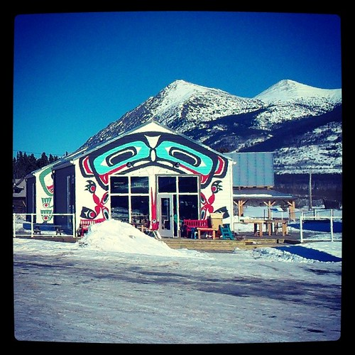 Carcross is home to the Carcross/Tagish First Nation #Yukon Well known for mountain biking and its desert