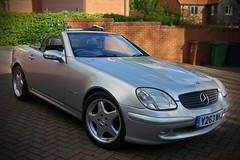 Mercedes SLK 230 Kompressor (steven.kemp) Tags: sports car mercedes convertible 230 amg slk kompressor