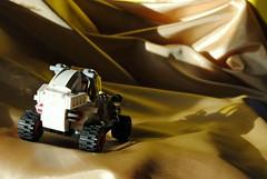 Aeolian Dunes (Brizzasbricks) Tags: lego space dunes buggy aeolian classicspace neoclassicspace