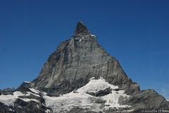 Le Cervin ou Matterhorn 4478 m (CH) (TICHAT10) Tags: gris suisse bleu zermatt matterhorn valais cervin cervino neigeetglace