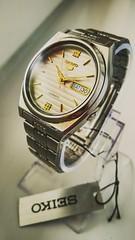 Seiko 5 7009-876A (werkmania.hu) Tags: light white mobile vintage silver gold grey tag watch timepiece wristwatch product seiko watchmaker refurbished xiaomi redmi