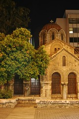 (Brian Aslak) Tags: city urban church night greek europe hellas athens greece igreja orthodox byzantine kirik attica  kapnikarea  ermou      churchofpanagiakapnikarea