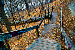 Watch your steps (marco_flores) Tags: fall escaleras atumn