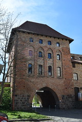 Rostock Germany.  Cowgate another city gate.  Only a few survive. (Anne and David.) Tags: germany rostock cowgate citygate