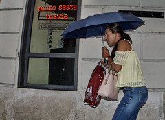 More seats inside. (Baz 120) Tags: life street city portrait people italy rome colour roma girl rain contrast europe italia faces candid strangers streetphotography streetportrait olympus streetphoto manual unposed streetfaces omd decisivemoment candidportrait candidphotography m43 streetcandid mft streetphotograph primelens em5 romestreets romepeople candidstreet zonefocusing candidface flashstreetphotography 75mmfisheye romecandid