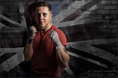 Made In England.... (kirby126) Tags: england wall studio carr hands flag shed wrap made sweat danny boxer punch workout the canon6d yn568ex pjlimages yn622ctx