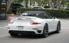 Porsche 911 Turbo S Cabriolet (991) (RudeDude2140a) Tags: white sports car 911 convertible s exotic turbo porsche cabriolet 991
