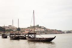 Infanta Isabel (Douro River) (samuel.rolo) Tags: light water rio river 50mm boat soft barco wine transport porto douro isabel 18 50 gaia infanta rabelo d610