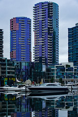 Lifestyles of the Rich & Famous (_Bernie_) Tags: reflections apartments yacht rich melbourne docklands d610 nikon70200mmf28gvri