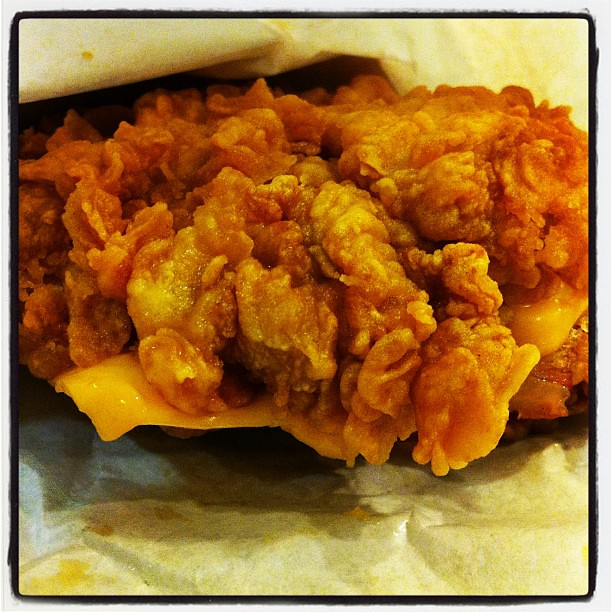 ZINGER DOUBLE DOWN