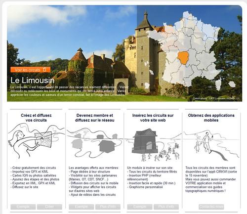Circuits de France - randonnée