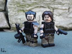 Dangerous.... (• Roku •) Tags: electric modern hair army dangerous post lego duo apocalypse pedro tape hazel ama vest battlefield armory roku 79 m9 apoc warfare bf3 mw3 aa12 brickarms