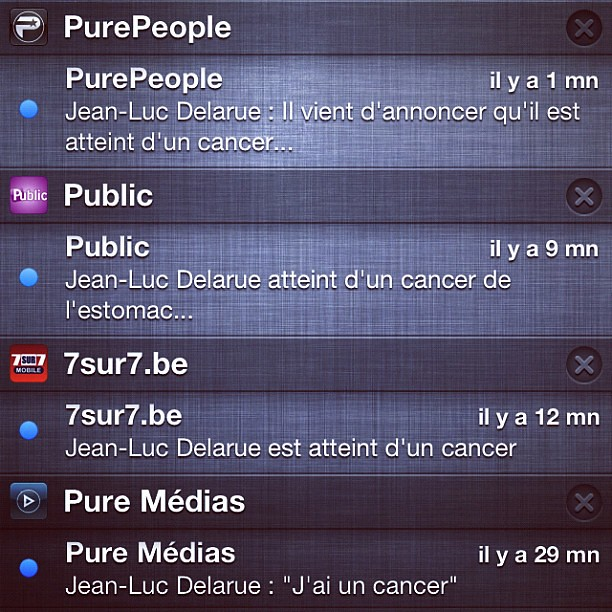 Quest-ce quil a Jean Luc #Delarue ? -.-