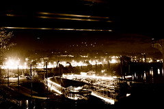 under the bridge (karlpfalz) Tags: park dark nightlights oregoncity