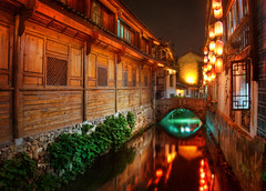 The Canals of Lijiang at Night (Stuck in Customs) Tags: china old city travel bridge windows reflection history water night digital photography canal blog high ancient asia republic village dynamic stuck traditional cottage scenic historic september east photoblog software processing imperial imaging serene lantern prc yunnan quaint prefecture range shi hdr lijiang province tutorial trey waterway travelblog customs   2011 ratcliff hdrtutorial stuckincustoms ynnn  treyratcliff photographyblog peoplesrepublicofchina stuckincustomscom nikond3x  ljingsh