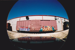 LOKIE-STRIKE (Casper..) Tags: graffiti trains strike freights lokie benching