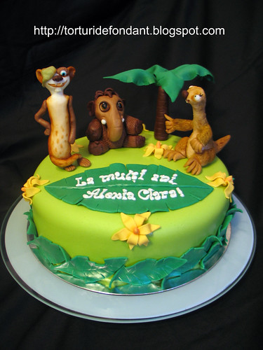 Tort Ice Age cake 1