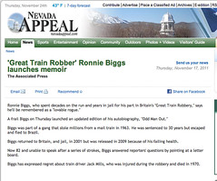 Nevada Appeal (Ronnie Biggs The Album) Tags: ronnie biggs greattrainrobbery oddmanout ronniebiggs ronaldbiggs
