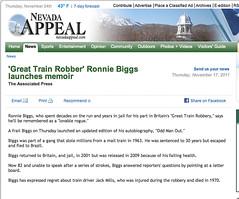 Nevada Appeal (Ronnie Biggs The Album) Tags: ronnie biggs greattrainrobbery oddmanout ronniebiggs ronaldbiggs