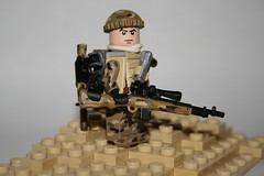 Elite Sniper (kenneth nielsen a.k.a Qenhyt) Tags: mod lego military elite sniper minifig custom brickarms