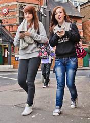 Girls in a Hurry (pickup2sticks 3.88 million + views) Tags: street city people urban woman girl beautiful fashion digital photo nikon pretty mood legs image pov candid  picture style form shape tamron 2011 d7000 gordonkerr