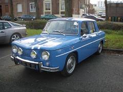 Renault R8 Gordini standard (gueguette80 ... Définitivement non voyant) Tags: old cars renault autos standard amiens picardie r8 somme anciennes 2011 gordini françaises lahotoie r8g