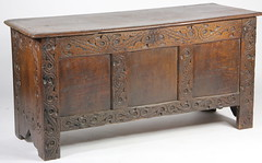 36. Jacobean Carved Blanket Chest