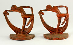 97. Pair of Art Deco Bookends