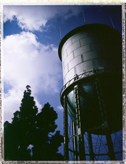 benefit of the doubt (525) Tags: polaroid watertower instant peel northpark
