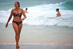 Sunday morning at the beach (Deb Jones1) Tags: ocean travel sea summer people seascape beach water canon 1 jones australia places explore deb beautynature flickrduel