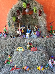 Belen Nacimiento Mexico (Ilhuicamina) Tags: animals mexico madera oaxaca belen nacimiento nativityscene woodcarvings tilcajete