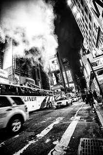 Times Square Steam