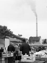 The price of energy (2) (roksoslav) Tags: canon market croatia zagreb g6 powerplant 2011 trenjevka blackwhitephotos toplana trenjevakiplac