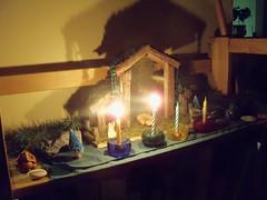 The Second Week of Advent (AlyssssylA) Tags: christmas winter advent solstice yule creche nativity babyjesus pagan waldorfinspiredquakerpagansolsticecreche