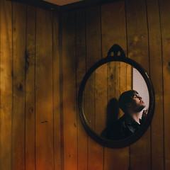 inhale/exhale. (Casey David) Tags: wood shadow red brown house reflection guy window lines corner neck circle beard fire mirror holding shadows cigarette smoke cigar 50mm14 ceiling smoking burning nails reflect cig smokey blinds facialhair walls panels cigarettes paneling onfire exhale inhale burninghouse project365 365days holdingcigarette woodenwalls boysmoking canont2i caseydavidphotography burninghousedown