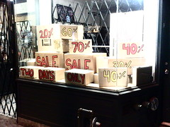 Boxing Day Shop Window... Full of Boxes - Bloor Street West The Annex Toronto Ontario Canada Saturday Night December 24 2011 - 001 (HiMY SYeD / photopia) Tags: toronto ontario canada night sale boxingday saturday theannex 40 20 70 60 70off bloorstreetwest 20off 40off twodaysonly december242011 boxingdayshopwindow fullofboxes