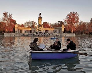 """Madrid (Parque de """"El Retiro"""") Diciembre 2011"""