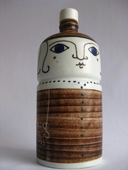 Lidded Lady / Altenkunstadt(?) (sticknobills) Tags: west art vintage ceramic de design 60s power space funky ufo pop retro age freak 70s pottery hippie atomic fleamarket atom porzellan midcentury