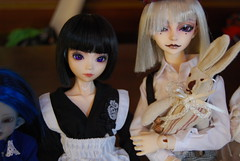 Good Couple (Purple  Enma) Tags: up spain dolls mo bjd meet wolfgang liddell dz isy balljointed soulkid enma mombi