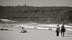 Walking Palm Beach (Alex E. Proimos) Tags: life summer lighthouse beach walking sydney australia tourist palm nsw surrounds the barranjoey